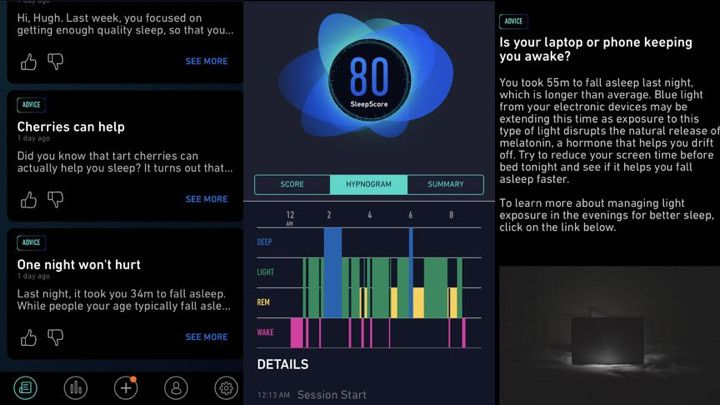 SleepScore analytics