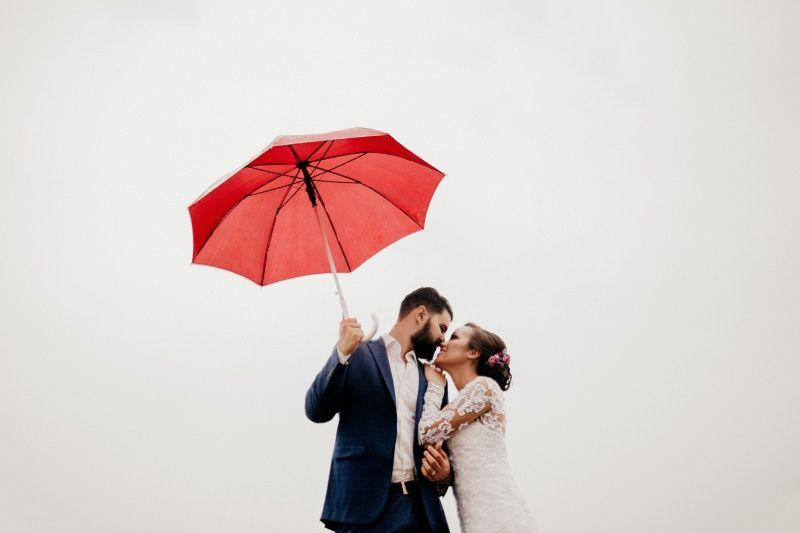 Couple, man with beard