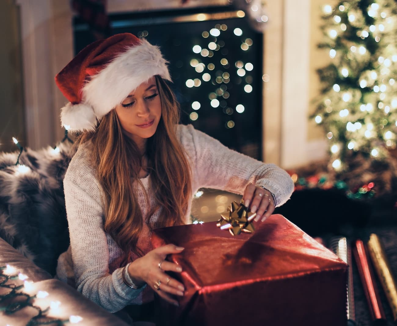 Do you buy yourself a Christmas present? Well you're not alone