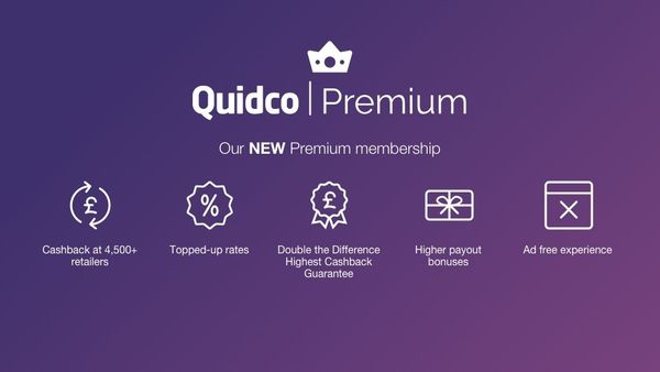 Quidco's new Premium membership: The UK's most rewarding cashback experience