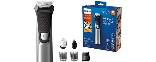 Prices slashed on the Philips Series 7000 12-in-1 Grooming Kit plus 12% cashback