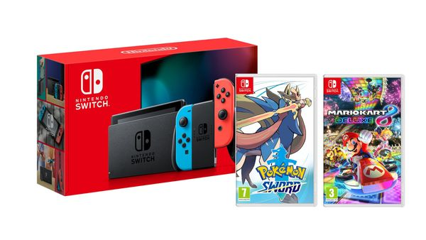Get a Nintendo Switch plus two games for Under £299.99 this Black Friday!