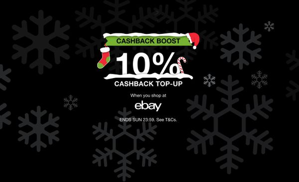 Get 10% cashback at eBay — this weekend only