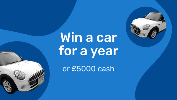 Here's your chance to win a Mini for a year